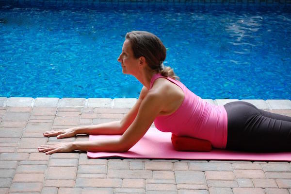 Breast Cancer Yoga Push-up