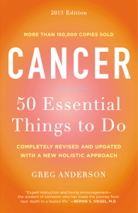 Cancer 50 Essential Things to Do 2013-Edition-195x300