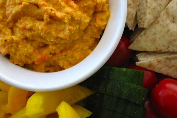Carrot Hummus Recipe For A Cancer Diet