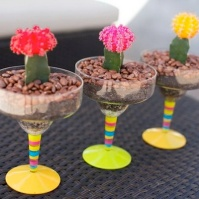 Margarita Glass Garden For Breast Cancer Garden Therapy