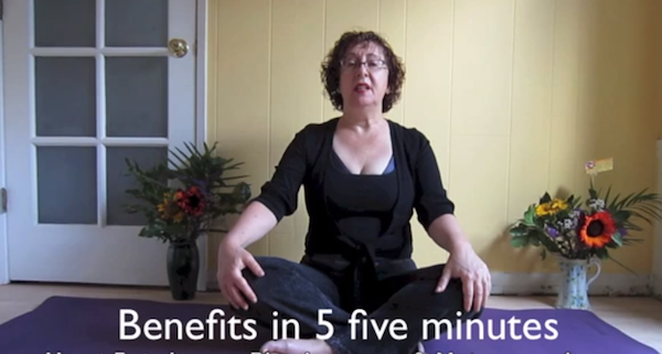 A Five Minute Yoga Practice For Breast Cancer Recovery