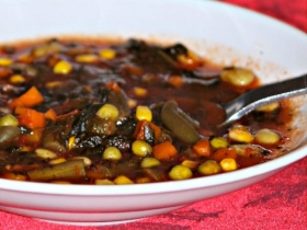 GrandBob's Vegetable Soup Recipe For Breast Cancer