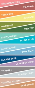 Trending Spring Colors For 2015