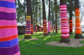 Breast Cancer Healing Garden Tree Art Ideas