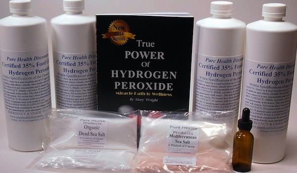 Hydrogen Peroxide Therapy For Cancer Kit