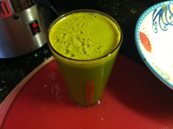 Morning Green Juice For Cancer Diet
