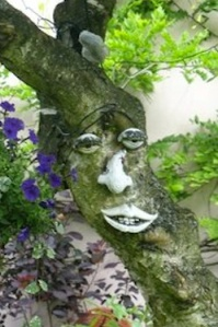 Tree Face For Garden