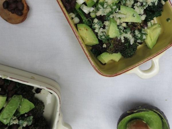 Black Beans and Sprouting Broccoli Salad  May 18, 2015 | 1 Comment Smoked Paprika, Black Beans and Sprouting Broccoli Salad