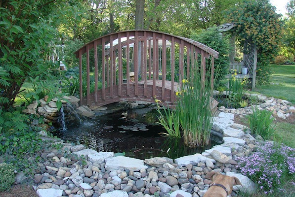 Garden Bridge For Breast Cancer Garden