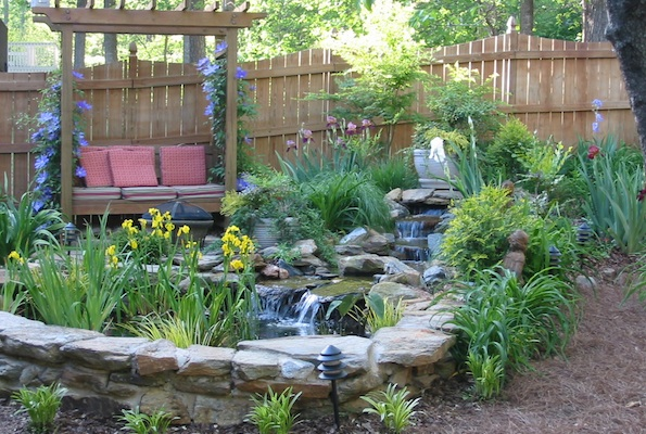 Seating For Breast Cancer Garden