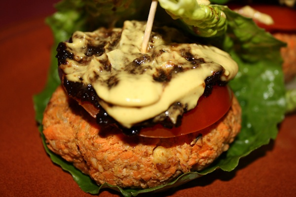 Veggie Burger For Cancer Diet