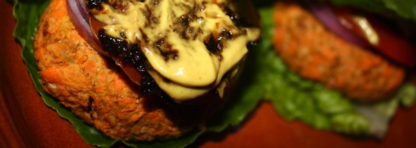 Veggie Burger Recipe on Breast Cancer Authority Blog