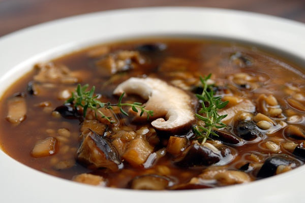 Easy To Make Shiitake Mushroom & Barley Soup For Breast Cancer