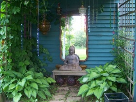 Meditation Garden For Breast Cancer