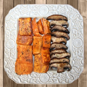 Mushrooms and Sweet Potatoes Recipe For a Cancer Diet