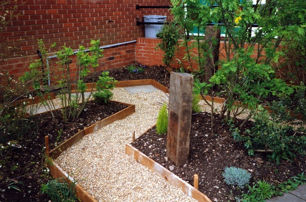 Natural Garden Path Ideas For Breast Cancer Healing Garden