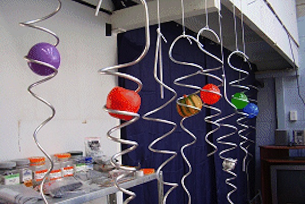 Spiral Wind Chimes