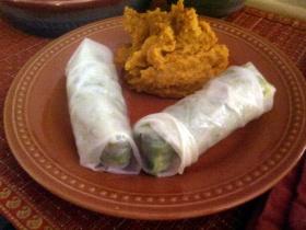 Citrusy Spring Rolls Recipe on Breast Cancer Authority Blog