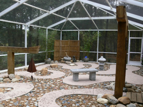 Backyard Breast Cancer Meditation Garden
