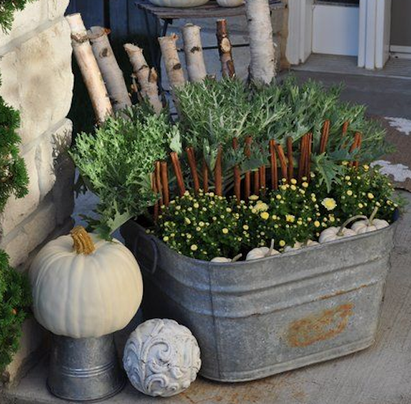 Breast Cancer Fall Porch Healing Space Ideas