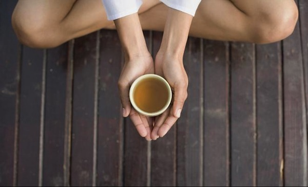 Breast Cancer Stress Relief For Anxiety With Tea & Breathing