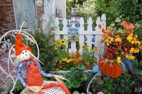 Fall Garden Ideas For Breast Cancer