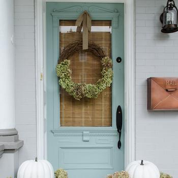 Front Porch Wreath For Fa;; Porch