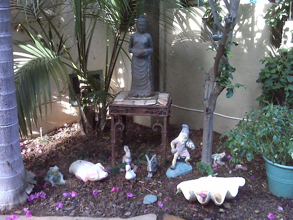 Garden Alter For Breast Cancer Healing