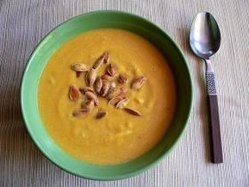 Dairy Free Easy Pumpkin Soup Recipe For A Cancer Diet