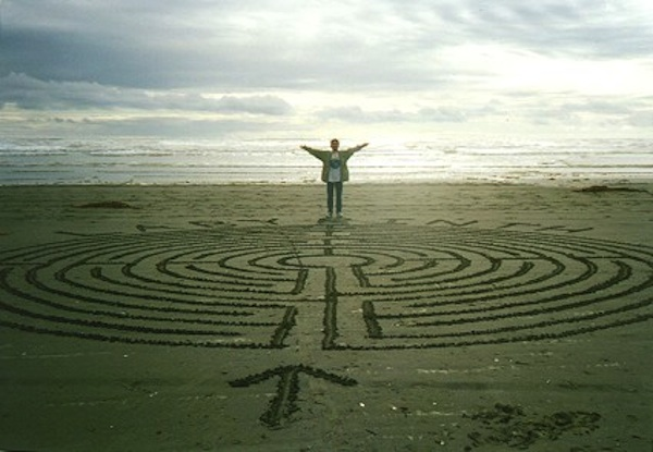 Labyrinth Walking For Breast Cancer Healing