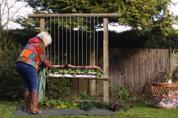 Garden Loom For Winter Healing Garden