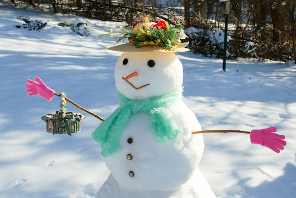 Snowman Ideas For Breast Cancer Healing Garden