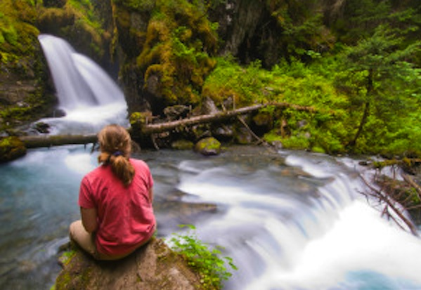 Mindfulness, Balance & Waterfalls For Breast Cancer Healing