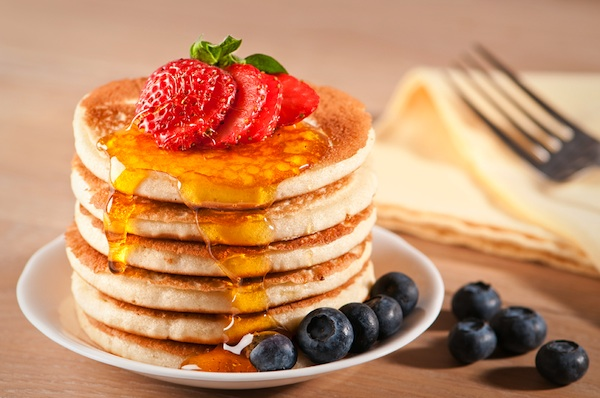 Breast Cancer Authority Blog's Vegan Pancake Recipe