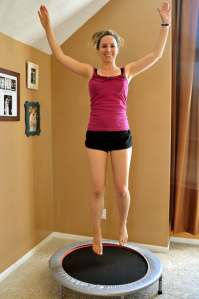 The Best Exercise for your Lymphatic System- Rebounding!