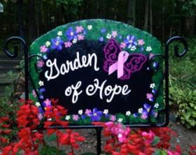 breast cancer healing outdoor gardens
