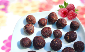 Healthy Chocolate Balls - Cancer Fighting Food Recipe