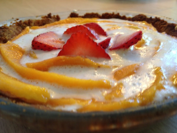 Mango Tart For A Breast Cancer Diet