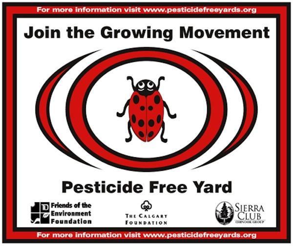 pesticide free yard