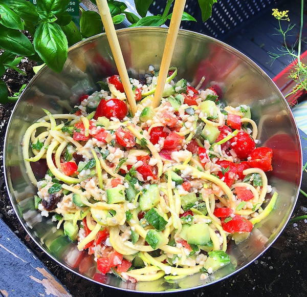 Zoodle Salad Recipe For Breast Cancer Diet