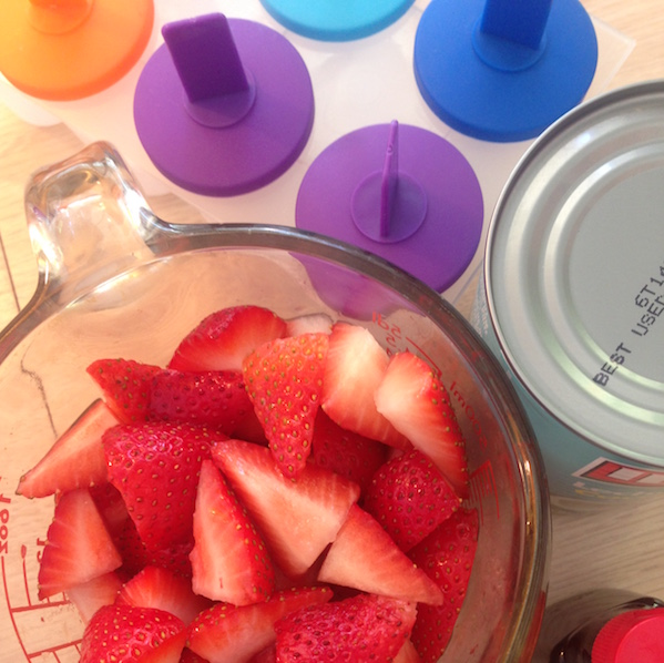 Healthy Strawberry Creamsicle Recipe